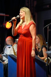 Pauline Richings adds to the variety of the big band sound with her polished jazz vocals.